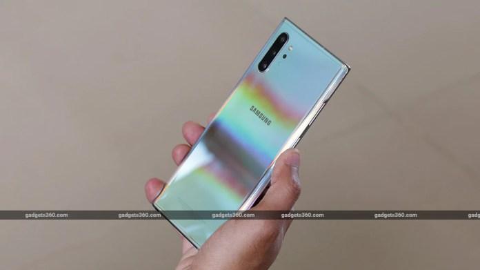 Galaxy Note 10 Plus Diseño de nuevo Samsung Galaxy Note 10 Review