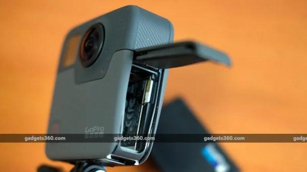 GoPro Fusion battery ndtv GoPro Fusion