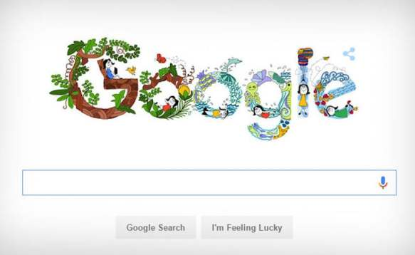 Children's Day in India: 11-Year-Old Pune Girl's Doodle Featured on Google India