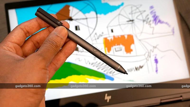 HP envy x360 pen ndtv hp