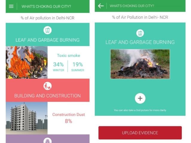 'Hawa Badlo' App Will Let Delhi Residents Report Likely Pollutants