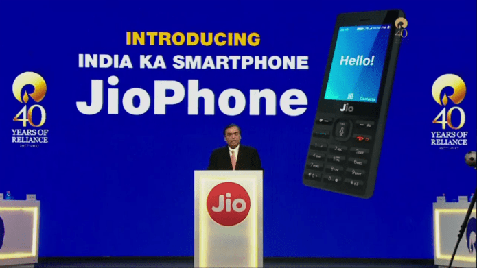 JioPhone Launch Reliance AGM Mukesh Ambani 1503593269323