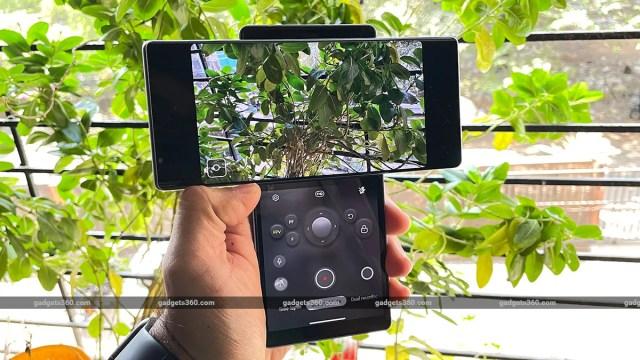 LG Wing camera gimbal mode LG Wing Review
