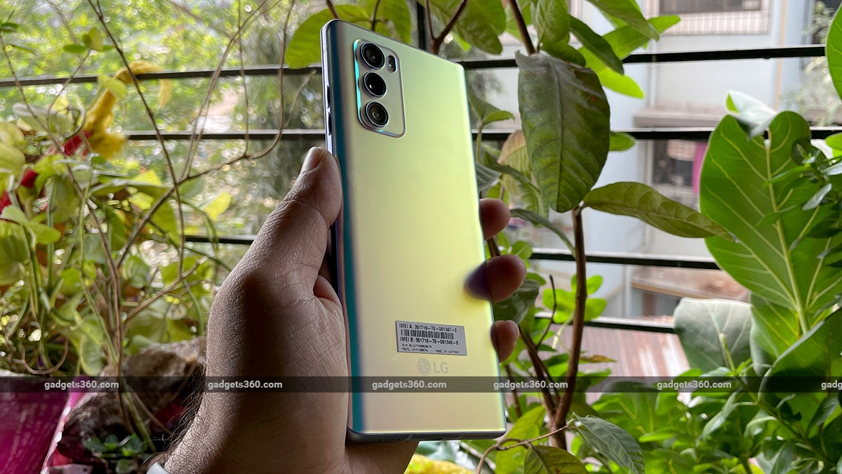 LG Wing cameras back LG Wing Review
