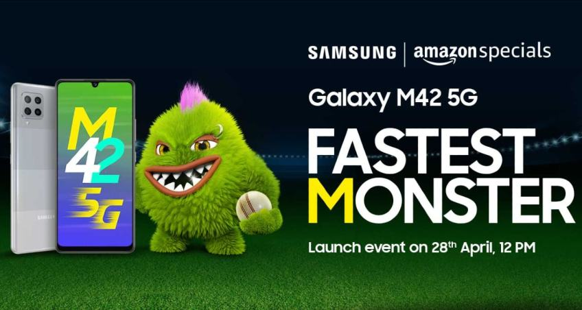 Samsung Galaxy M42 5G Set to Launch in India on April 28