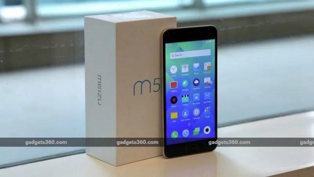 Meizu M5 box ndtv meizu m5