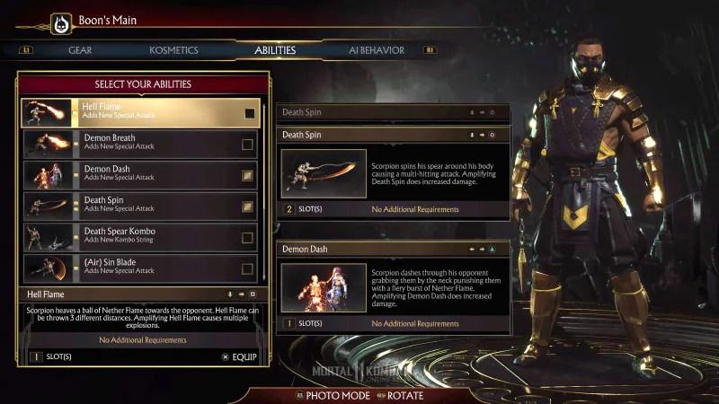 Mortal Kombat 11 Online Beta customisation mortal kombat 11 beta review