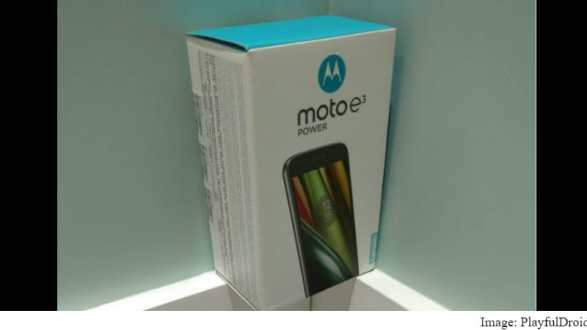 Moto E3 Power With 3500mAh Battery Goes on Sale