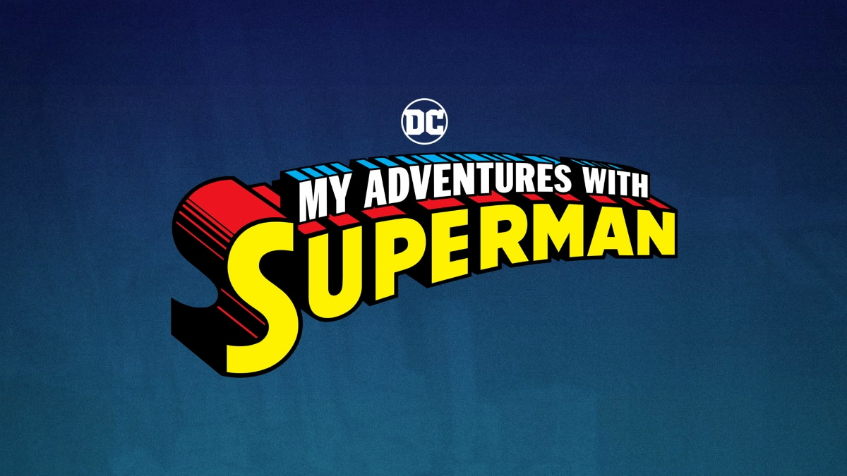 My Adventures with Superman Logo My Adventures with Superman