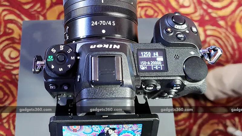 Nikon Z7 Z6 top ndtv nikon