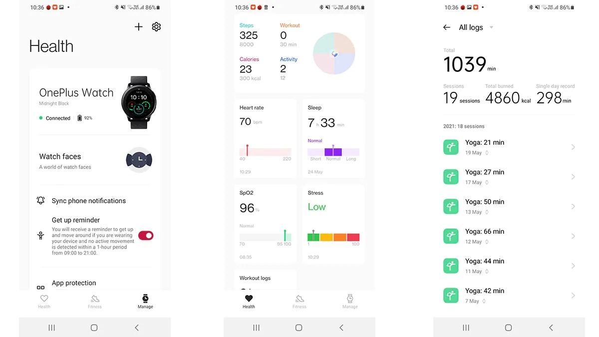 OnePlus Watch app OnePlus Watch Review