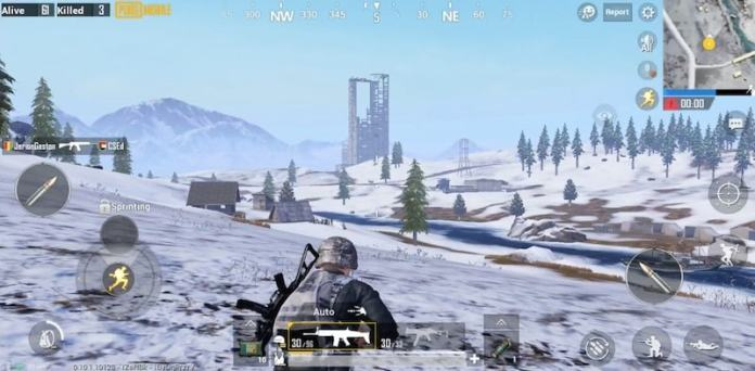 PUBG MOBILE VIKENDI COSMODROME TOWER