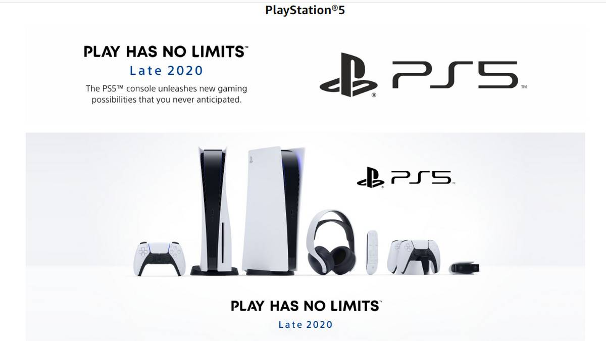 PlayStation 5 Teaser Page Goes Live on Amazon India, Flipkart; Launching in 'Late 2020' 57