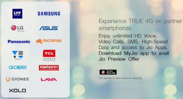 Reliance Jio SIM Offer Extended to Smartphones by 4 More OEMs