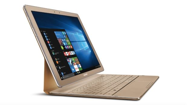 Samsung Galaxy TabPro S Gold Edition With 8GB RAM, 256GB SDD, and Windows 10 Launched