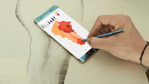 Samsung Galaxy Note 7 Smartphones Reportedly Catch Fire in China