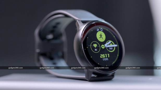 Samsung Galaxy Watch Active Screen Samsung Galaxy Watch Active Review