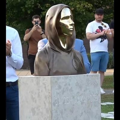 Bitcoin Creator Satoshi Nakamoto's First Statue Unveiled in Budapest