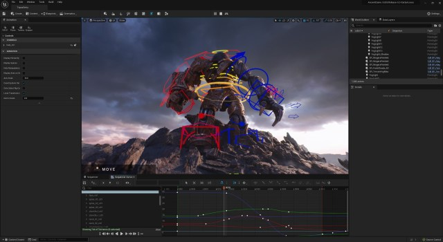 Unreal Engine 5 first experience animation ue5