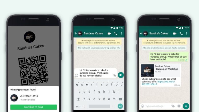 Whatsapp business new features 1594290581722