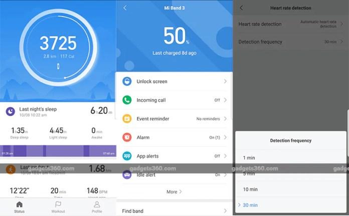 Xiaomi Mi band 3 Software Xiaomi Mi Band 3 Review