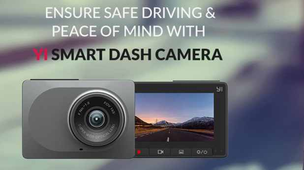 Yi Smart Dash Camera With a Wide-Angle Lens Launched in India, to Be Sold via Amazon