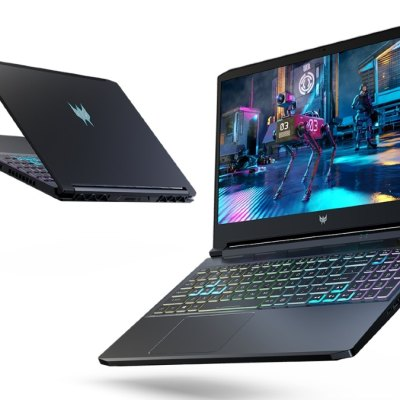 Acer Unveils Gaming Laptops With Intel Core H-Series Processors