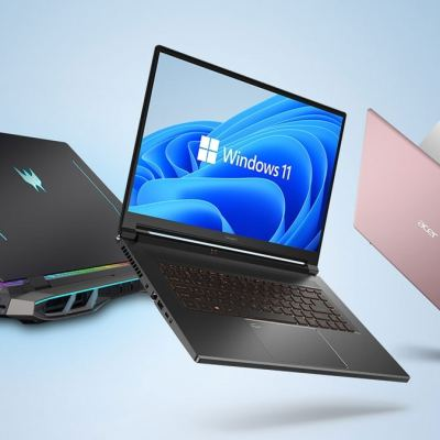 Acer Launches Six New Laptops Based on Windows 11 in India