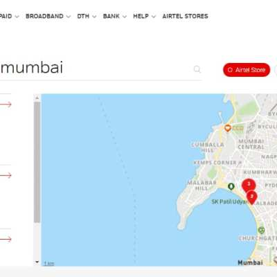How to Find the Nearest Airtel Store Online