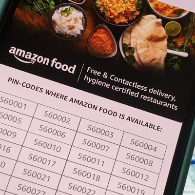 Amazon's Food Delivery Service Expands to 62 PIN Codes in Bengaluru