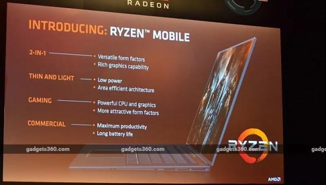 amd ryzen mobile AMD