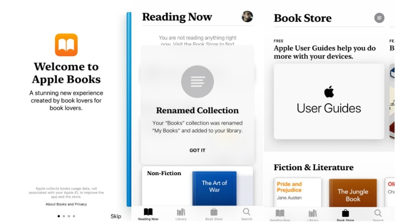 apple books ios12 inline iOS 12 WWDC 2018