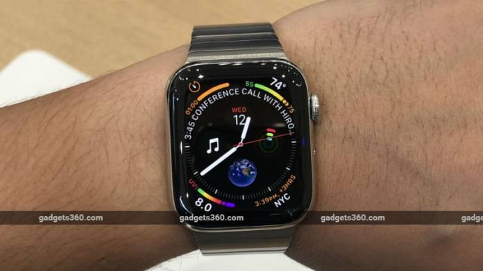 apple watch series 4 story gadgets360 Apple Watch Series 4  Apple Watch  Apple Watch 4  Apple