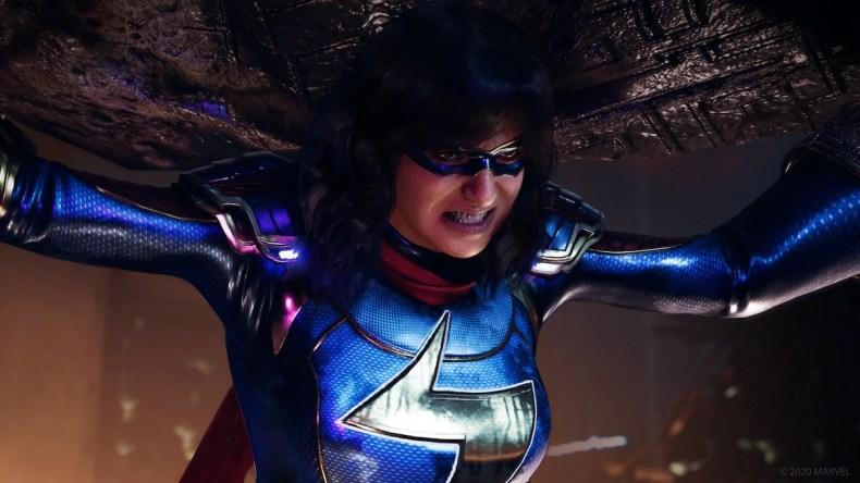 avengers beta kamala khan Marvel Avengers game beta
