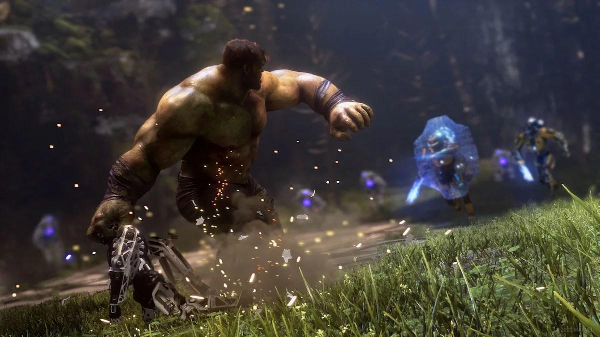 avengers game hulk shield Avengers game Marvel Hulk