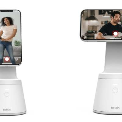 Belkin Brings Face-Tracking Magnetic Phone Mount for iPhone 12 Series