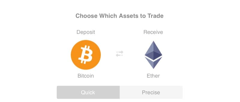 bitcoin ethereum shapeshift Shapeshift