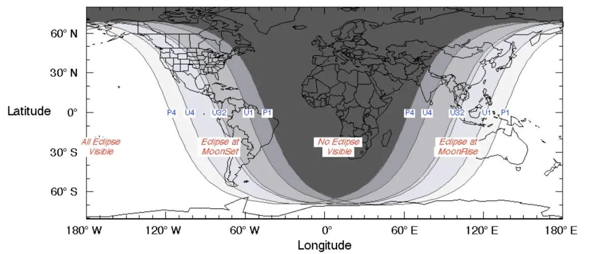 blood moon 2021 total lunar eclipse visibility graph nasa Blood Moon 2021  Blood Moon