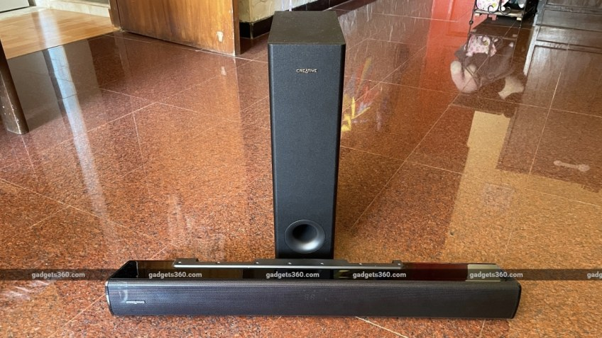 Creative Stage V2 Soundbar Review: Sound Blaster Returns
