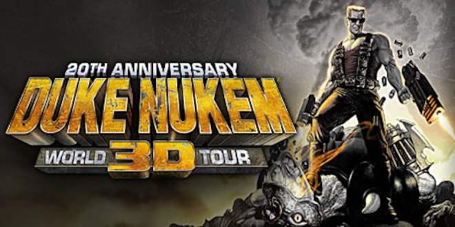 Duke Nukem 3D: 20th Anniversary World Tour for PS4, Windows PC, and Xbox One Announced