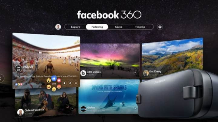Facebook 360 for Gear VR Launched, the Social Network's First Dedicated VR App