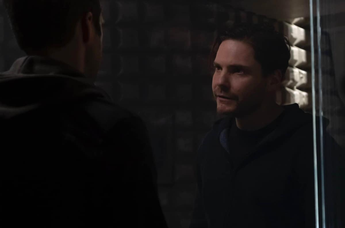 Falcon in Episode 3, and Maria BSU: I'm in opposition to Zemo