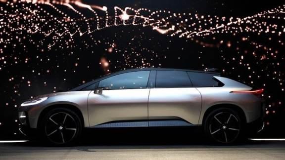 CES 2017: Faraday Future Unveils 1050-Horsepower FF 91 Electric Vehicle