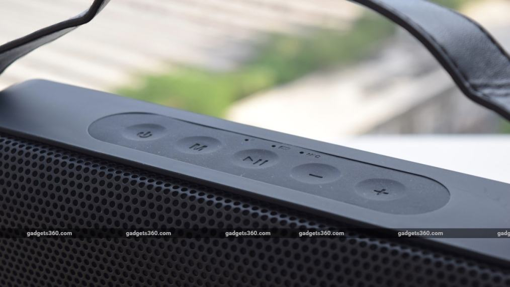 fenda w19 speaker review buttons Fenda W19