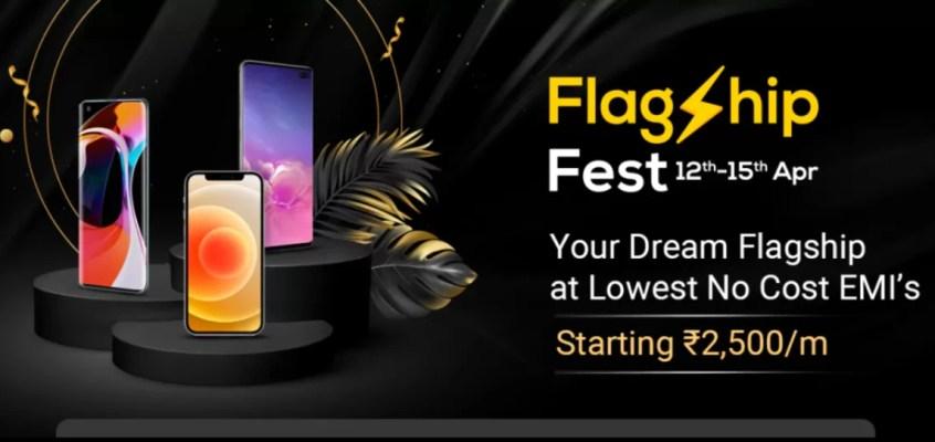 Flipkart Flagship Fest Sale Begins With Deals and Offers on Premium Phones