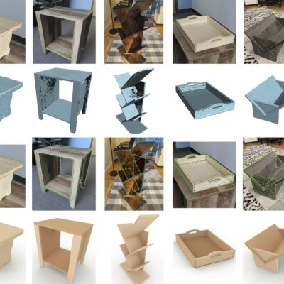 This Method Recreates Detailed 3D Models of Furniture With Just Its Images