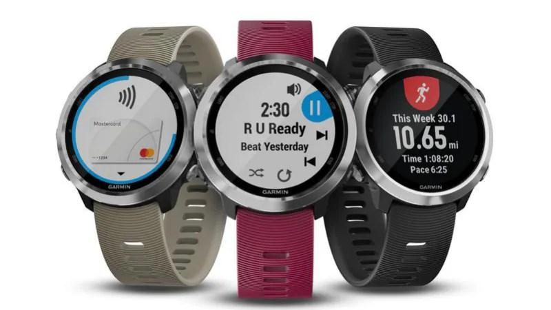 Garmin Forerunner 645 Music Smartwatch, Speak Plus In-Dash Cam Launched at CES 2018