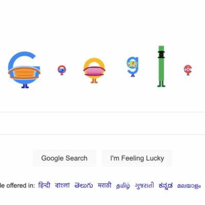 Google Doodle Reiterates the Importance of Masks as COVID-19 Cases Surge