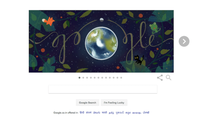 Earth Day 2017 Google Doodle Offers Earth Day Tips