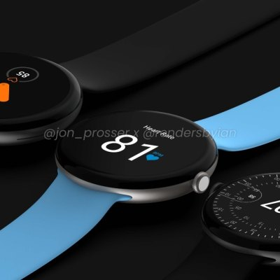 Google Pixel Watch Renders Surface Online, October Launch Tipped